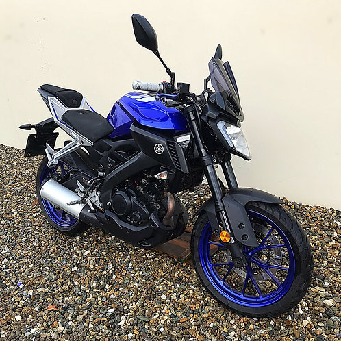 YAMAHA MT-125 ABS -BIKE IS NOW SOLD