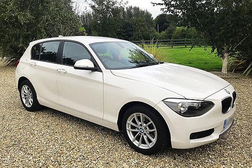 BMW 114iES 1.6 TWIN TURBO - 6 SPEED - 5 DOOR