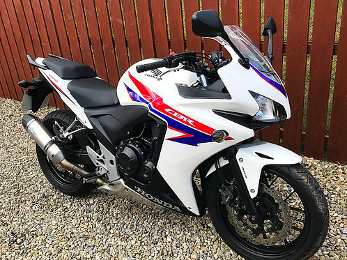 HONDA CBR 500R - JUST 9,000 MILES - 2 OWNER - BIKE IS NOW SOLD