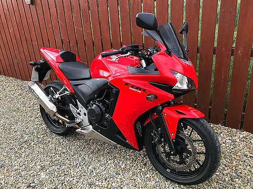 HONDA CBR500R - JUST 9,800 MILES - BIKE IS NOW SOLD