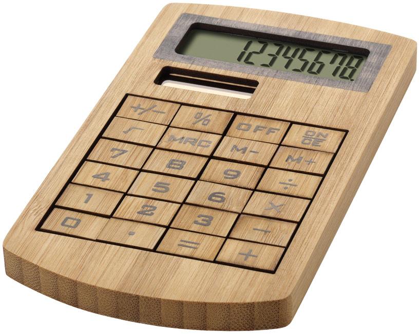 Bambus-Tischrechner