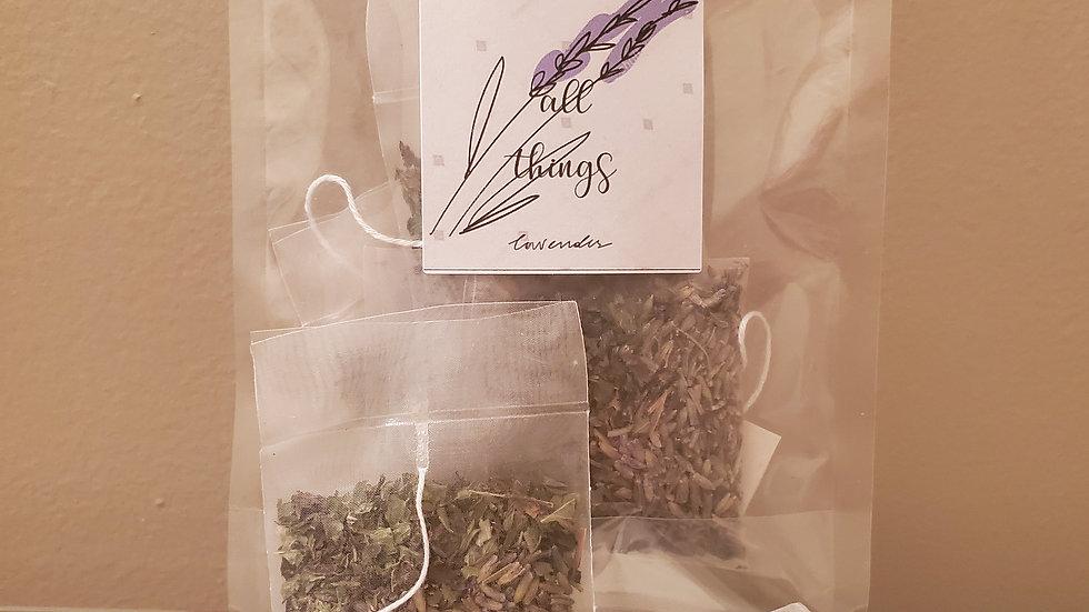 Lavender Lemon balm tea