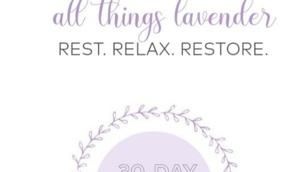 30 day Selfcare journal & Facebook group