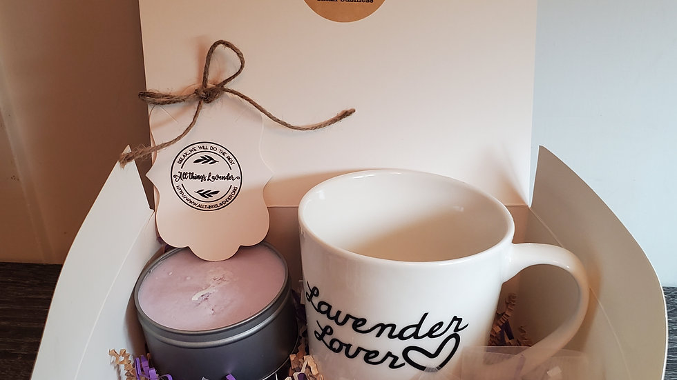 Customized mug spa package