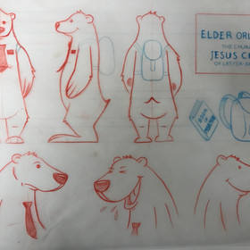 Early character design