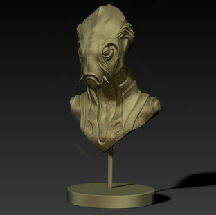 Zbrush Sculpt and Render