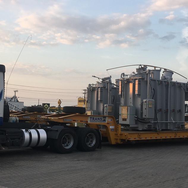 Transporte de transformadores