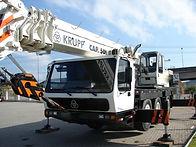 Guindaste Krupp KMK-3045 para 50 toneladas