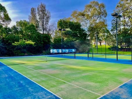 Recent completed job at FX Tennis Academy - Five Dock NSW - before & afters 🎾