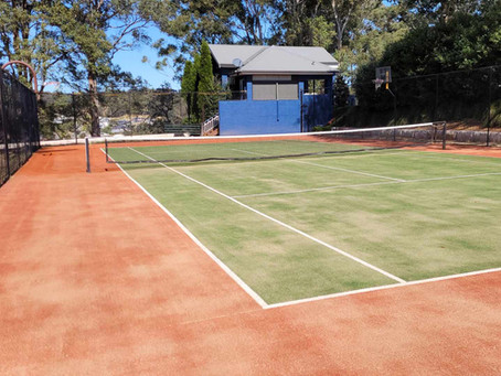 Before & after photo's from a recent job in Terrigal 🎾