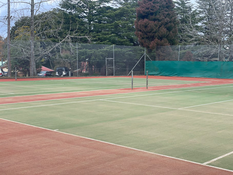 Recent completed job in Lawson Tennis Club  NSW - before & afters🎾🥶