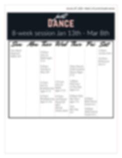 Just Dance Newsletter - Jan 13, 2019_Pag