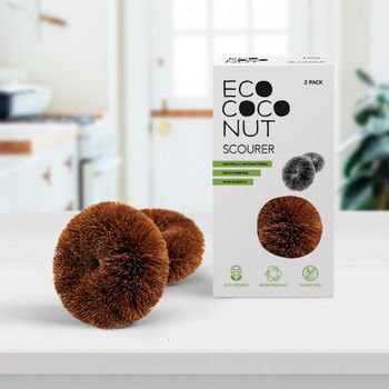 2 Pack EcoCoconut Scourers
