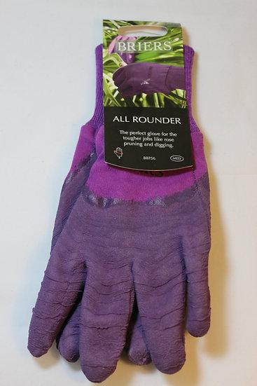 Briers All Rounder Gardening Gloves- Purple