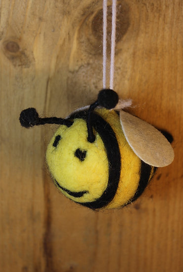 Cute Felted Bee