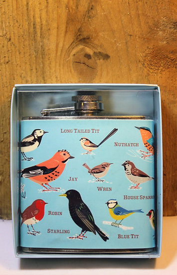 British Bird Hipflask
