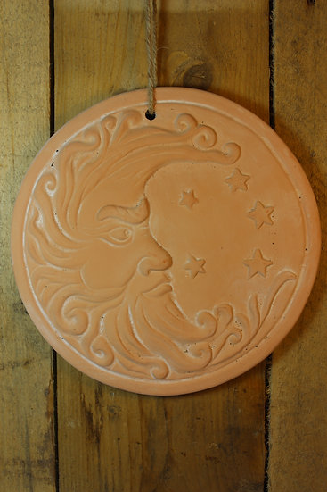 Moon Terracotta Plaque