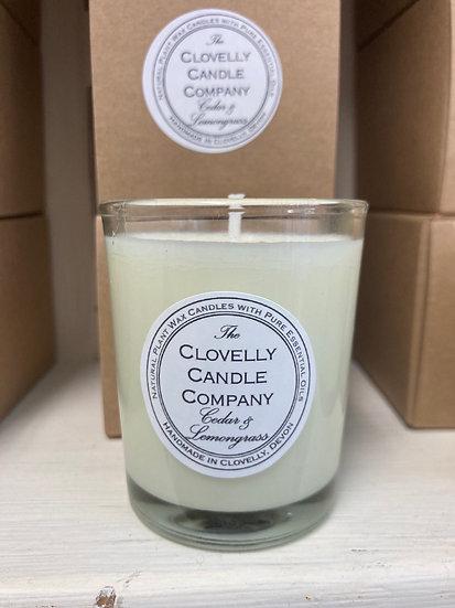 Cedar and Lemongrass Votive Candle