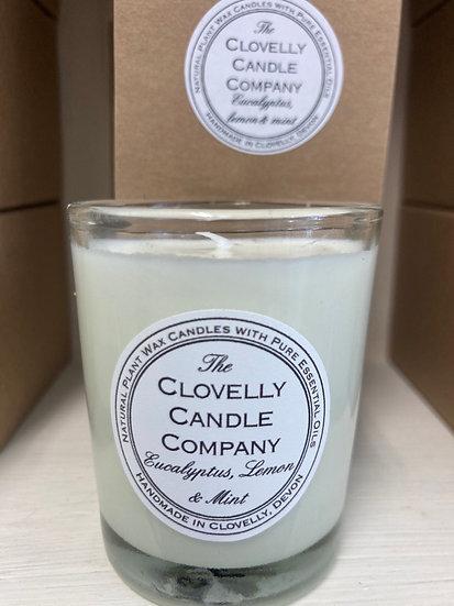 Eucalyptus , Lemon and Mint Votive Candle