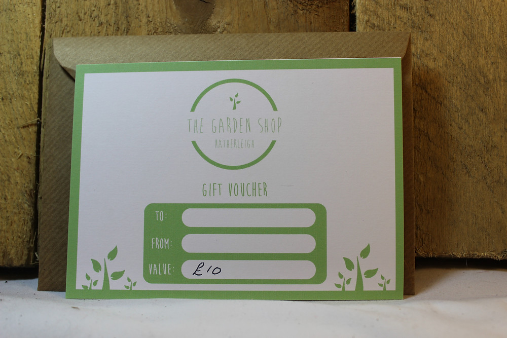 Gardeners Gift voucher
