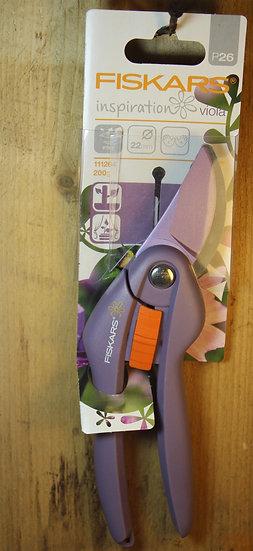 Purple Fiskars Secateurs