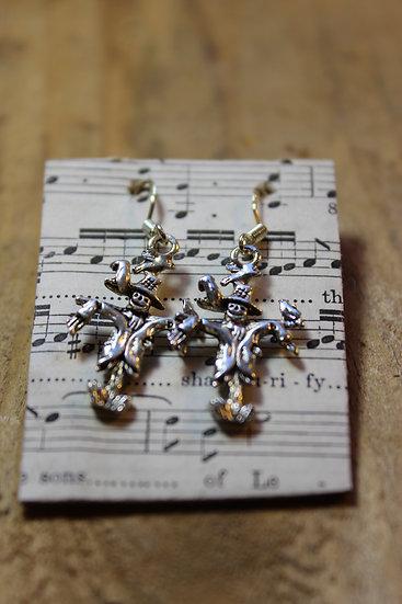 Scarecrow Earrings
