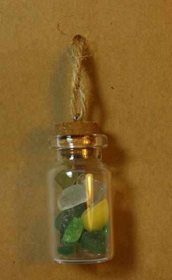 Small Bottle of Cornish Sea Glass
