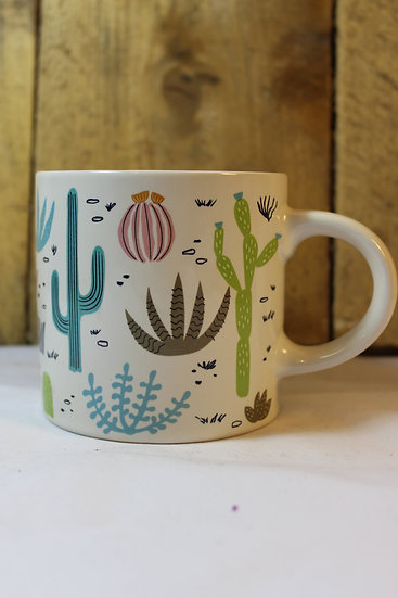 China Cactus Mug