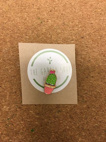 Cute Cactus Enamel Pin