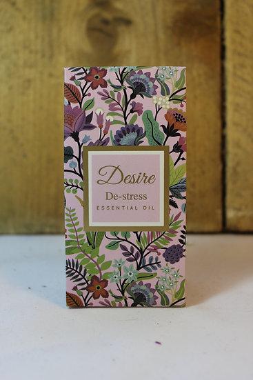 Essential Oil- De-Stress, Jasmine and Rosewood