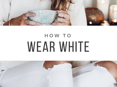 10 Style Tips to Wearing White