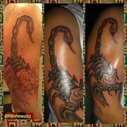 #scorpion #likeThat #ink #bestnwest #Exquisite Taste