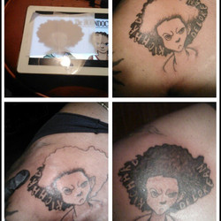 #ink on my #pops #boondocks #Bijonsworld