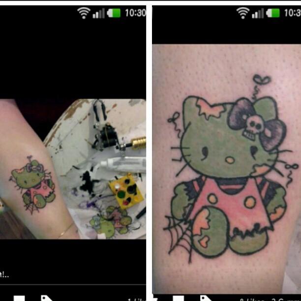 #Hello kitty Zombie