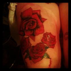#rose #Tattoos #bleeding love
