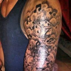 1st session #Tattoos #music #