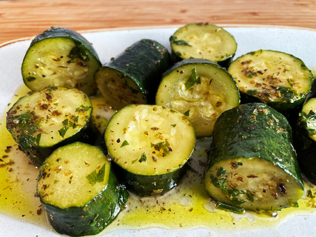 Courgettes Giahni (Kolokithakia Giahni) recipe