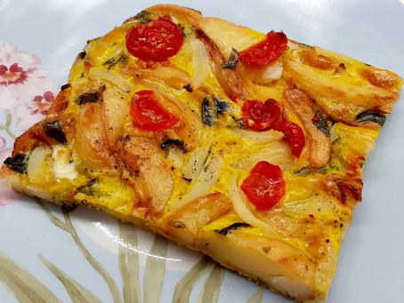 Baked Omelette (Ομελέτα Φούρνου)