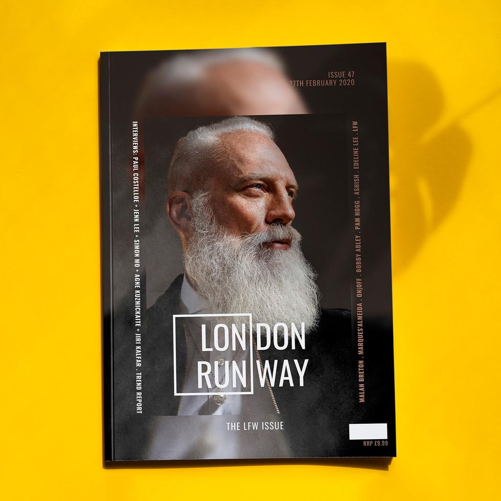 London Runway Magazine Cover