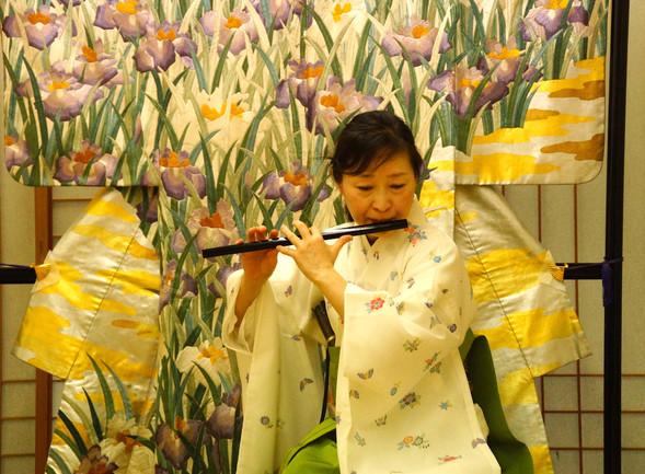 「子供たちと日本文化を楽しむ会」ワークショップ・ミニコンサートを開催しました