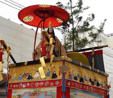 祇園祭,占出山