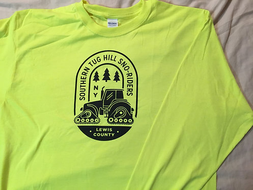 Long Sleeve Safety Yellow