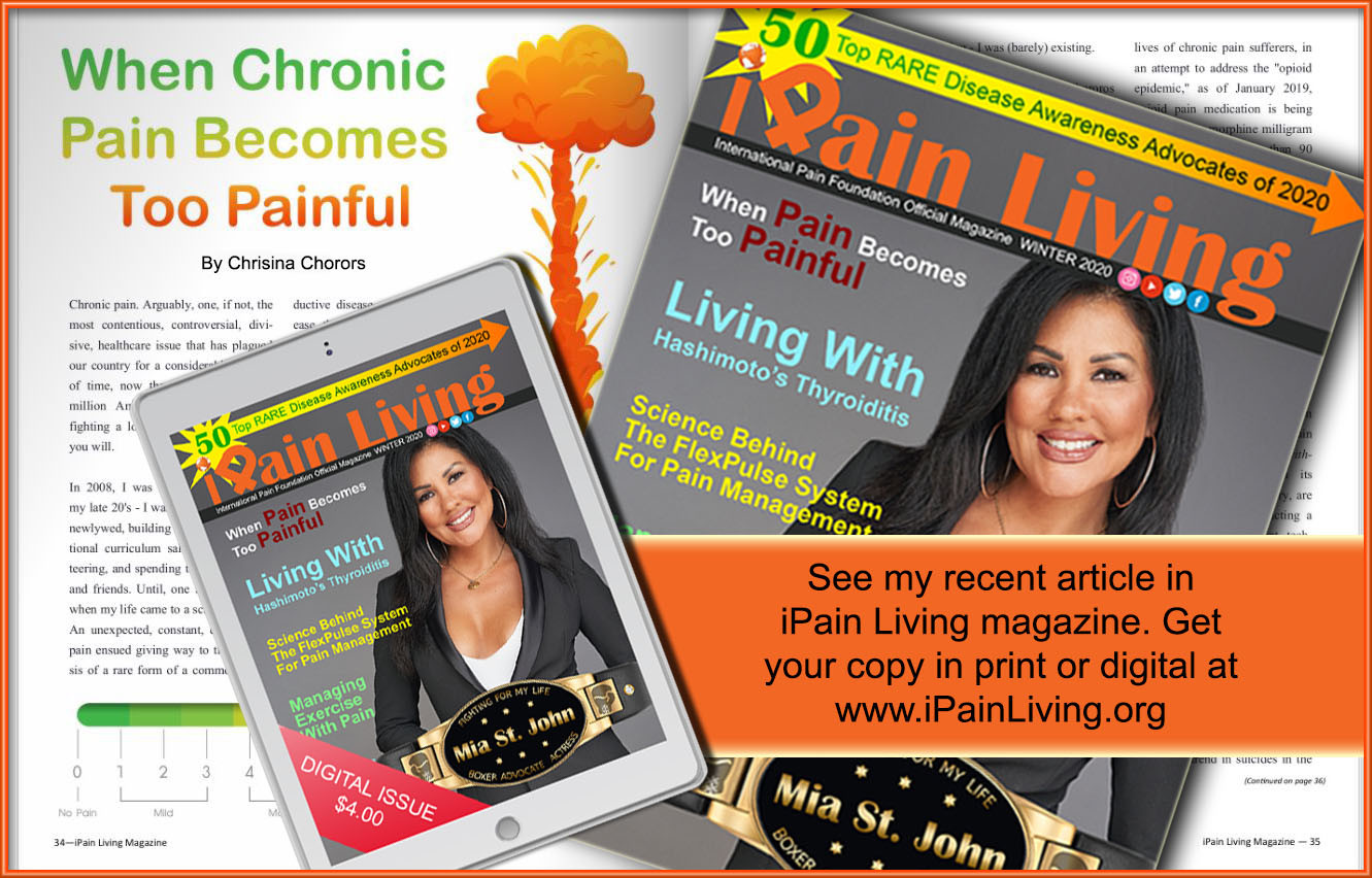 iPain Living Magazine - Winter 2020