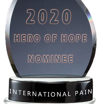 iPain Hero of Hope Nominee Award 2020.pn