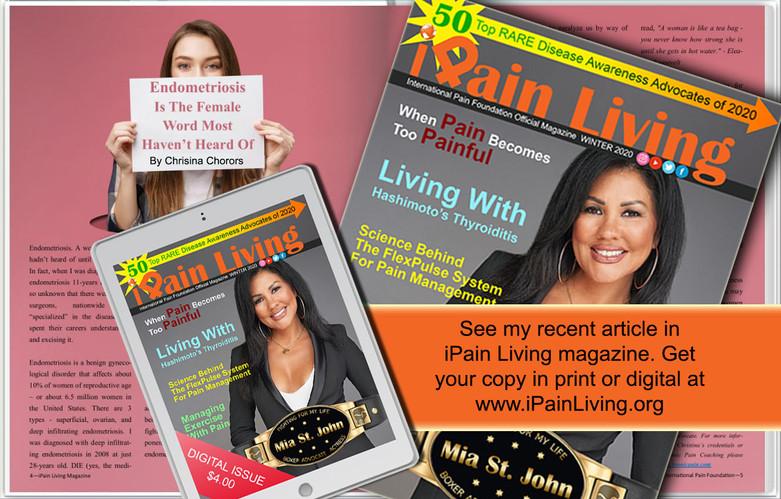 iPain Living Magazine - Winter 2020