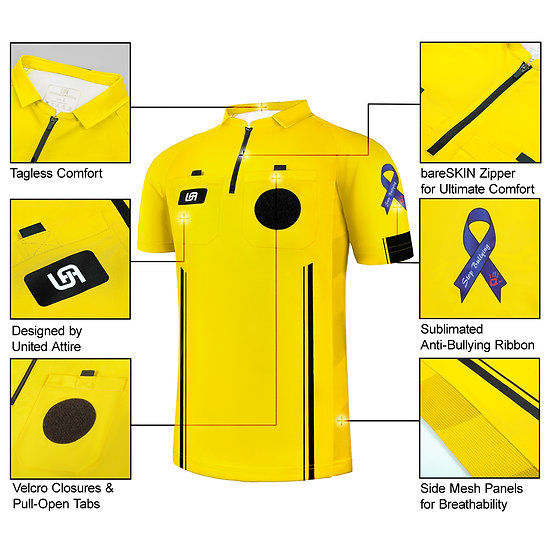 """Stop Bullying"" Soccer Referee Jersey"