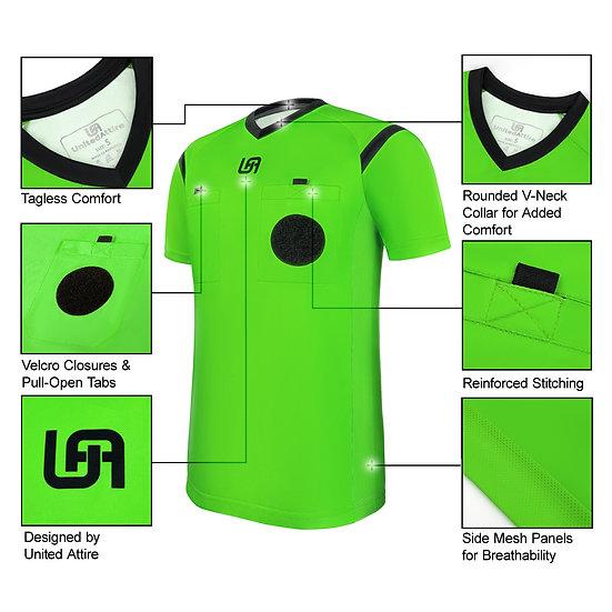 UnitedAttire Referee Jersey (Green)