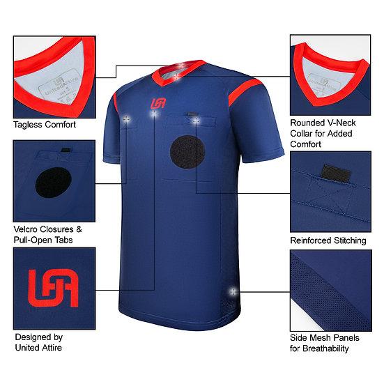 UnitedAttire Referee Jersey (Navy)