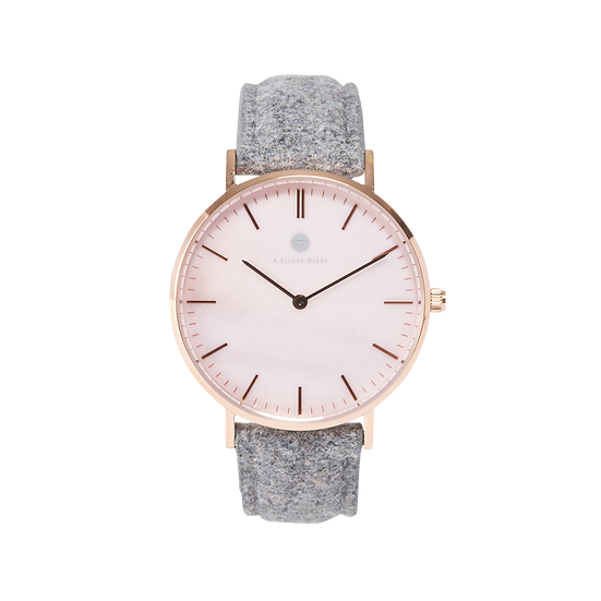 PINK GEM 36MM | TWEED | GLOOMY SHEEP
