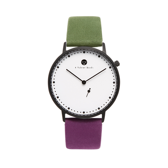 EIGHT HOOTER 36MM | NUBACK | COLORED MOSS